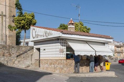 churreróa Rubio Valdefuentes Extremadura esgrafiado