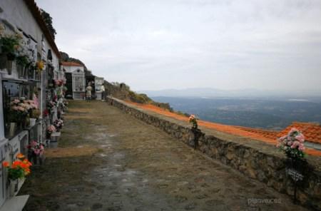 Cementerio Montánchez Extremadura planVE