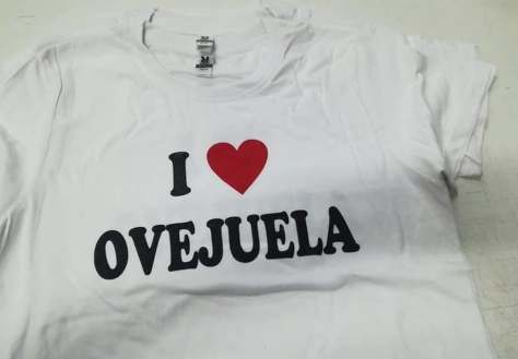 Camiseta ferias Ovejuela