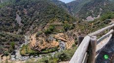 Meandro El Gasco, Las Hurdes