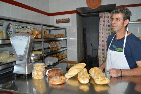 Pan artesano de Antonio García en Ceclavín