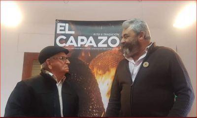 José Pinto en el Capazo 2019, foto cedida por el centro de interpretación.