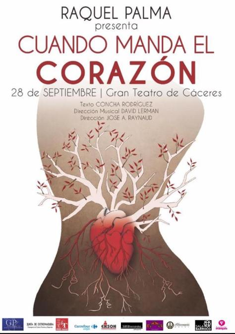 Raquel Palma concierto en Cáceres