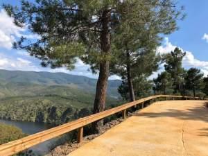 Camino público de acceso al Meandro Melero recién remodelado en junio de 2020