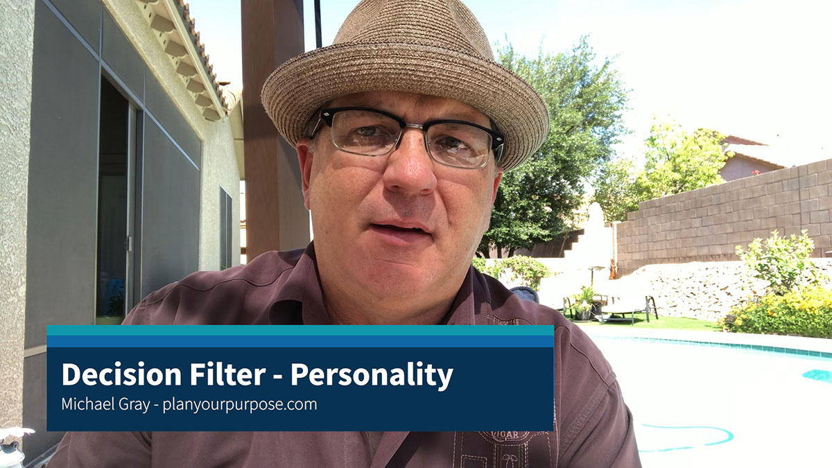 Decision Filter - MBTI Personality