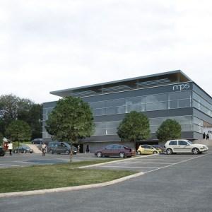 vue 3d du bâtiment mps à bonfol