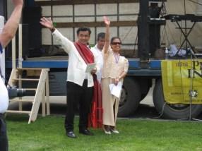 philippine independence hosts