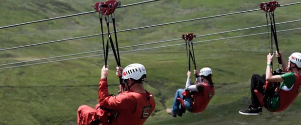 Activities for all ages: Zip World (10 mins away)