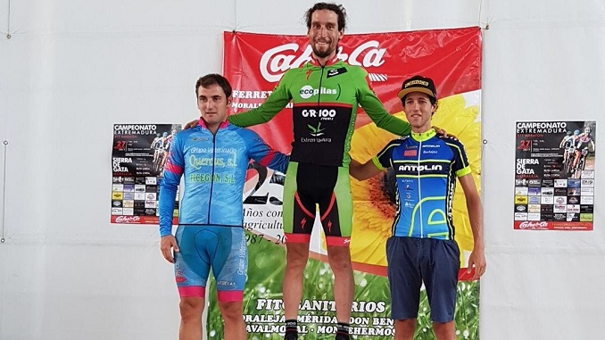 Pedro Romero Campeón de Extremadura BTT Maratón en Moraleja