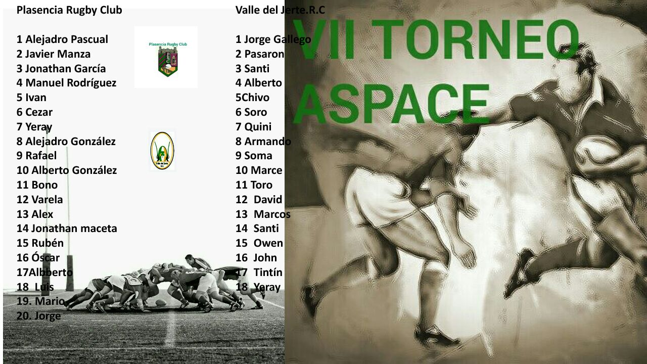 VII Torneo benéfico ASPACE de rugby