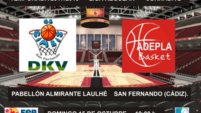 Jaguarzo Adepla Basket consigue su primera victoria (65-72)