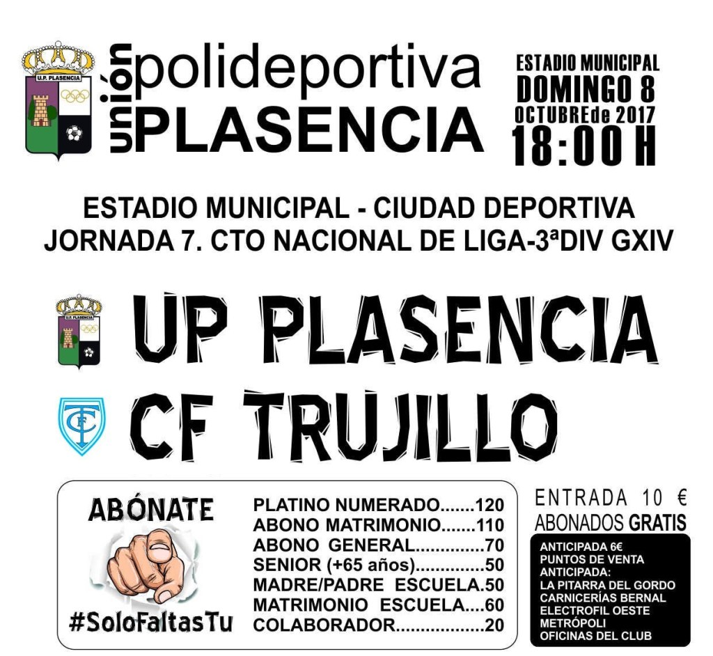 UP Plasencia vs CF Trujillo