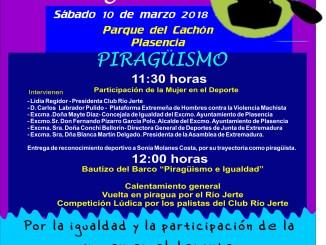 El Club Piragüismo Río Jerte apuesta por la igualdad