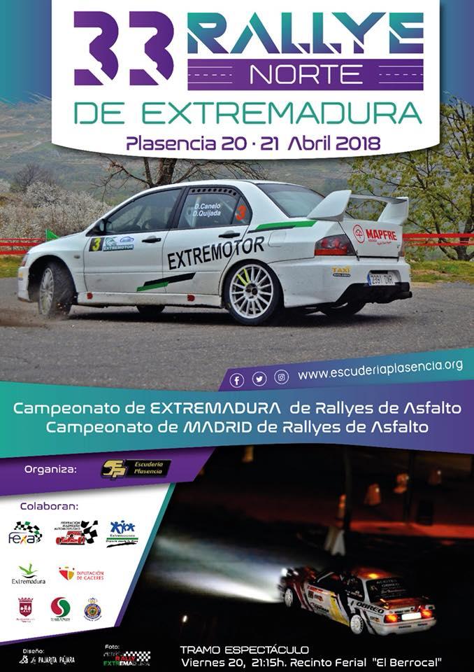 XXXIII Rallye Norte de Extremadura