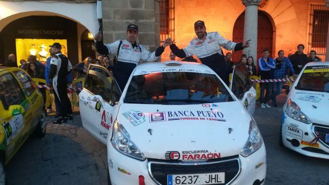 Triunfo madrileño en el Rallye Norte de Extremadura