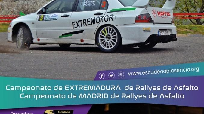 Ya suenan los motores del Rallye Norte de Extremadura