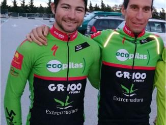 Pedro Romero en parrilla de salida de La Rioja Bike Race
