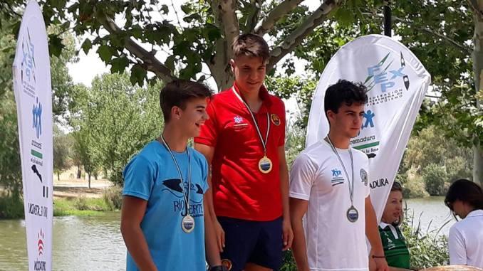 El Club Rio Jerte de Plasencia 2º por Clubes en la V regata Júdex Velocidad, con un total de 11 podiums