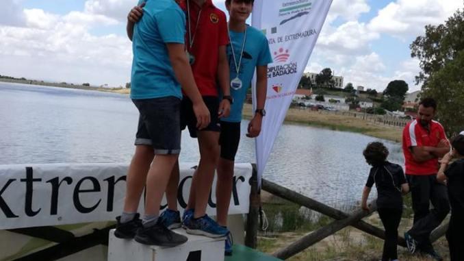 El Club Río Jerte obtiene 6 medallas en la IV Regata JUDEX Triatlón