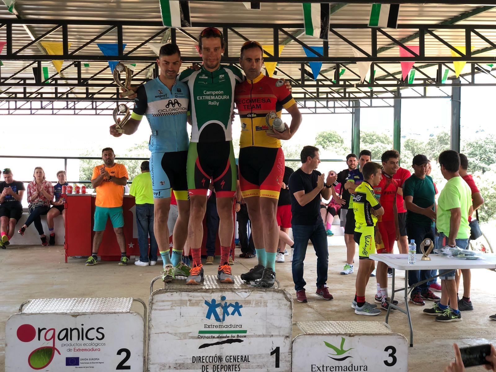 Pedro Romero Campeón de Extremadura XCO (Rally) en categoría élite
