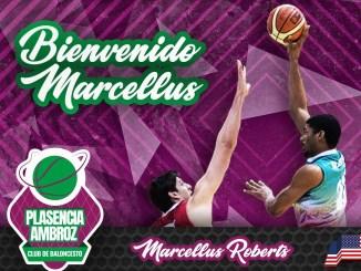 Marcellus Roberts cierra la pintura del CB Extremadura Plasencia