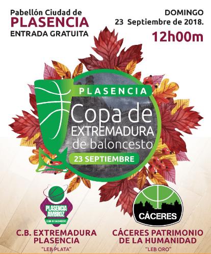 Extremadura Plasencia - Cáceres Basket