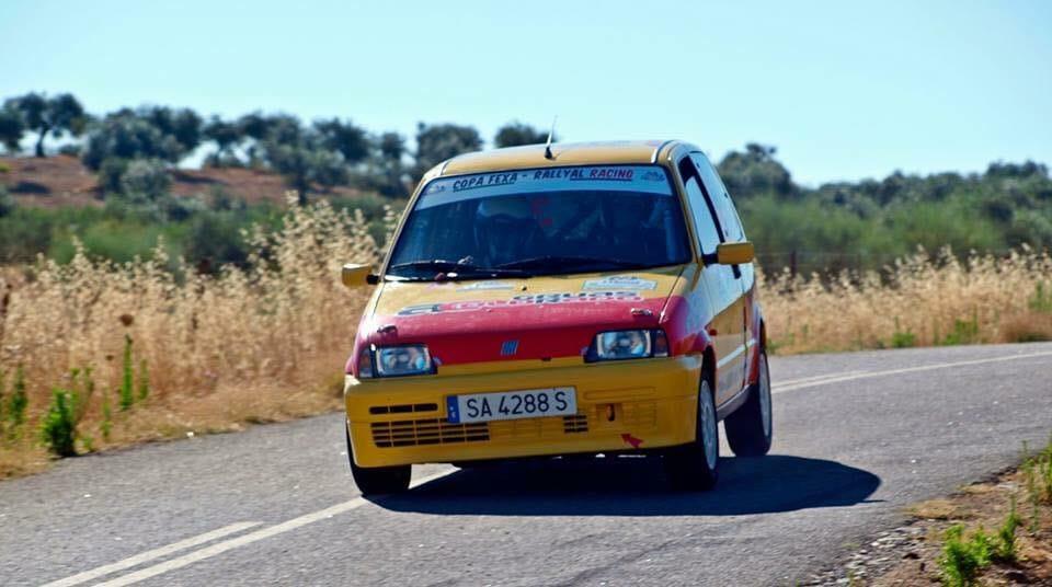 Víctor Colorado Sierra y Rafael Martín debutan con victoria en el Q Racing en el Rallye de la Vendimia
