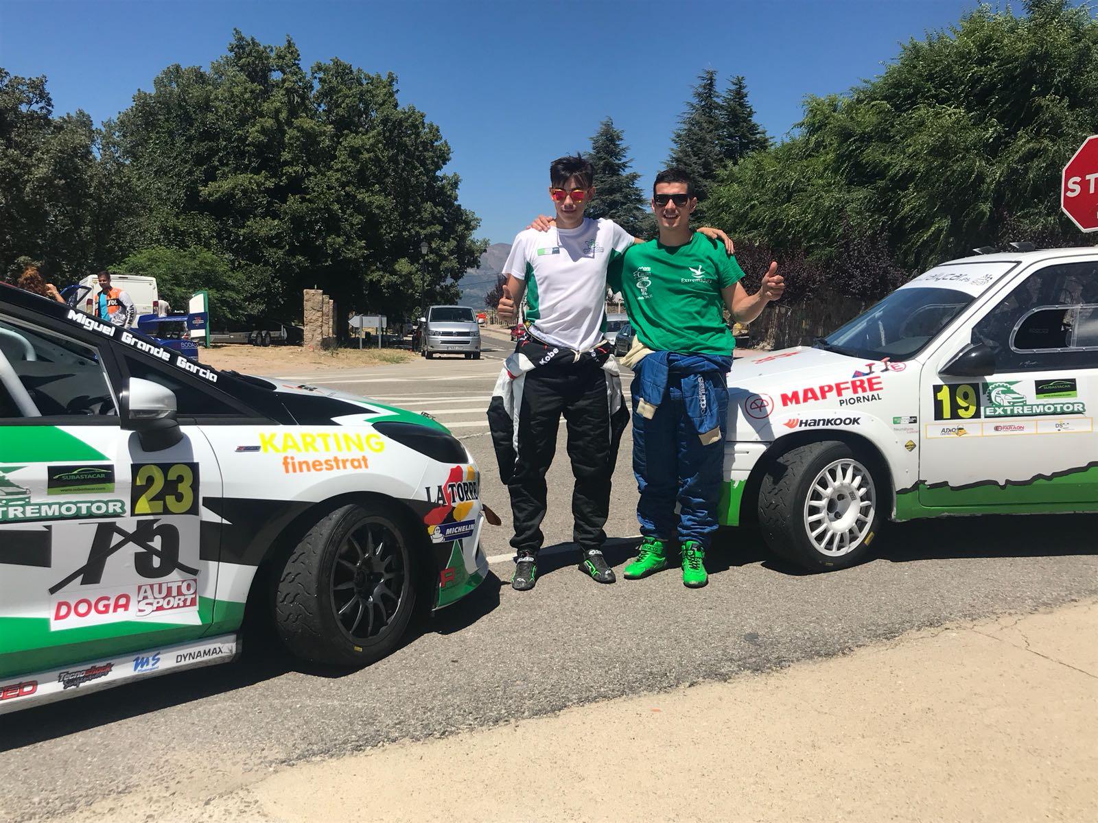 Miguel Grande piloto del ERT