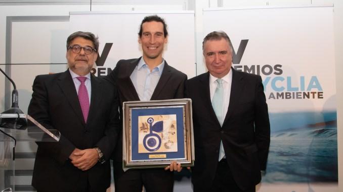 El placentino Pedro Romero Premio Recyclia de Medio Ambiente 2018 por su fomento del reciclaje