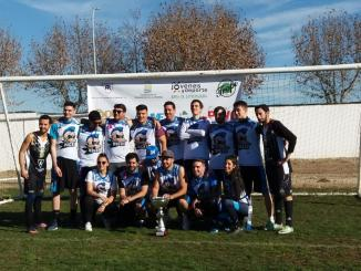 Plasencia Ducks se proclama campeón de la II Copa de Extremadura de Flag Football