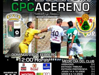 up plasencia vs CP Cacereño