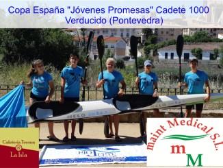 Club Río Jerte de Piragüismo se desplaza hasta Verducido, Pontevedera a competir a nivel nacional
