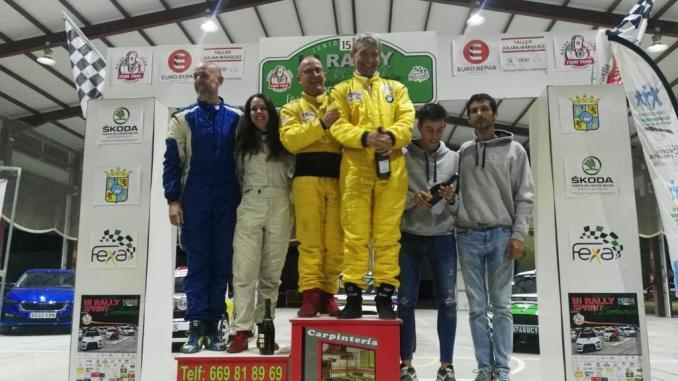Espectacular tercer puesto de Grande y Sánchez en la general de Zurbarán