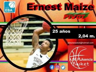 Ernest Maize, Zue Halba y Samuel Abu, más madera para Adepla Basket