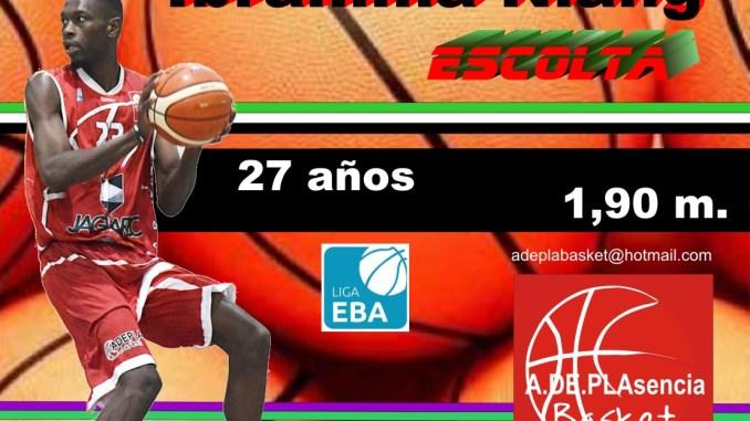 Retorna el escolta senegalés Ibrahima Niang al Plasencia Basket
