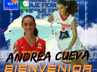Andrea Cueva, talento joven en el primer fichaje del Miralvalle