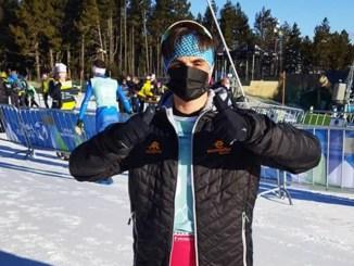 David Puertas Campeonato del Mundo de Triatlón de Invierno