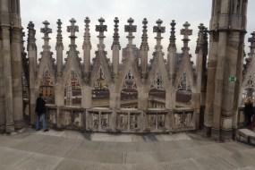 La Terrazas de la Catedral de Milán