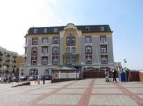 Cerca a la playa de Westerland