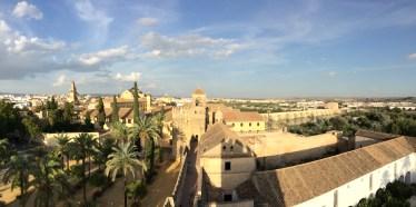 Córdoba desde las torres del Alcázar