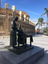 Estatuas en Cádiz