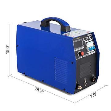 Mophorn 60AMP Plasmaschneider-Schweißgerät 380V Plasmaschneider-Schweißgerät (60AMP) - 4