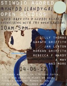 Mynydd Llandegai open studios 2012