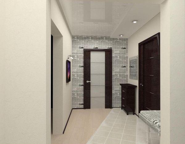 Дизайн коридора - Портал о строительстве