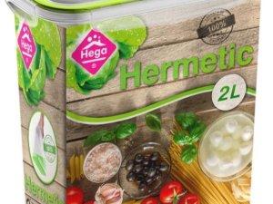 10x Voorraad/vershoudbakjes 2 liter transparant/groen plastic/kunststof - Kiev - Luchtdicht/hermetisch afgesloten vershouddoos bakje - Mealprep - Maaltijden bewaren