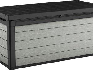 Keter Denali Opbergbox - 390L - 122,9x62,1x70,6 - Antraciet