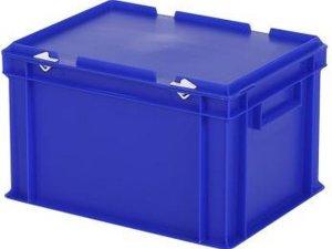 Opbergbox / Stapelkrat - Polypropyleen - 21,5 liter - Blauw
