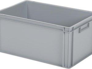 Opbergbox / Stapelkrat - Polypropyleen - 55 liter - Grijs