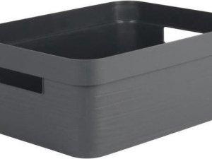 STONE Antraciet DECOR Opbergbox - 12 L