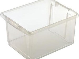 Sunware Nesta Opbergbox - 32L - Kunststof - Transparant